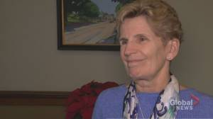 Kathleen Wynne talks the unveiling of her official portrait