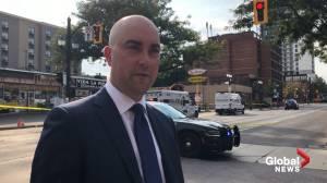 Man shot dead in central Hamilton (00:43)