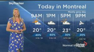 Global News Morning weather forecast: May 25, 2020