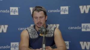 RAW: Blue Bombers Zach Collaros Post Game – Sept. 5 (03:50)