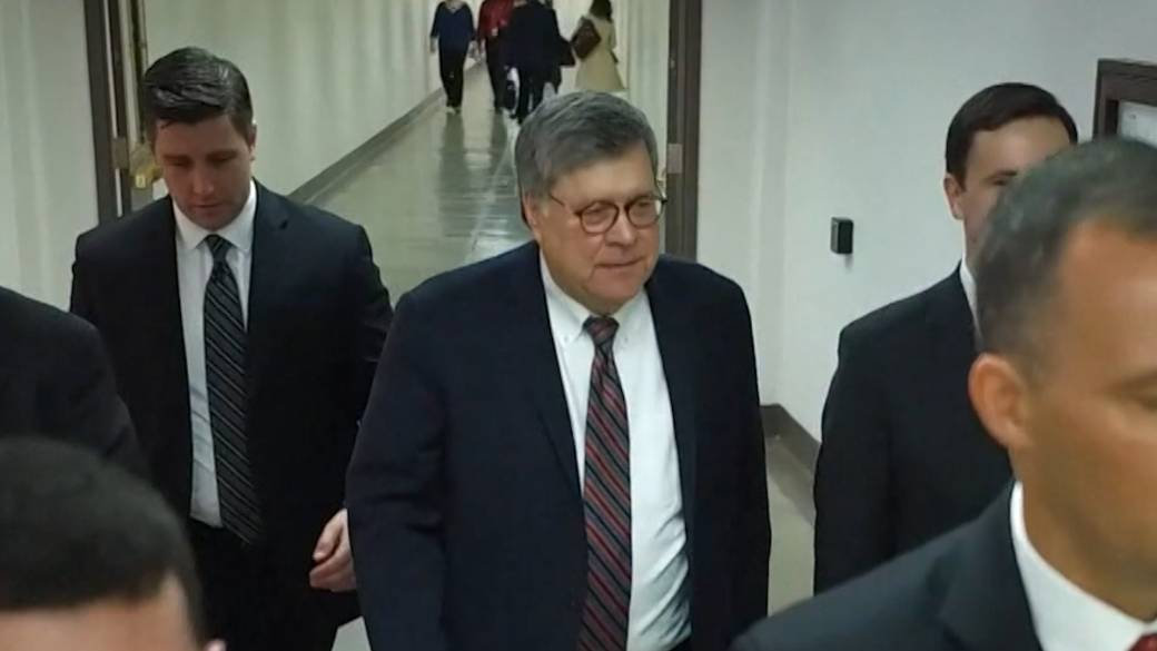 Click to play video 'US election: Barr says Justice Department has not found evidence of widespread fraud'