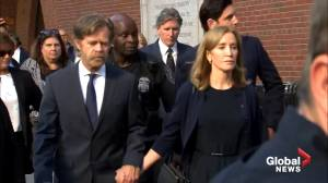 Felicity Huffman sentenced to 14 days in jail for role in college admissions scandal