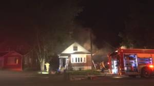 Fire damages home on Clonsilla Avenue (00:42)