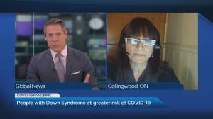 Down Syndrome community at greater risk of COVID-19, pushing for vaccine priority (04:43)