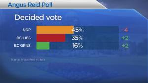 New poll shows B.C. election race getting tighter (01:21)