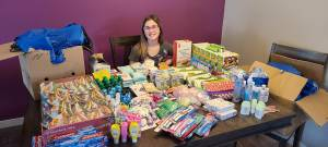 Regina girl collecting donations for care kits to help those in need (01:45)