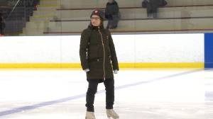 World Skating champion Meagan Duhamel stops off in Gananoque.