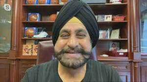Raptors Superfan Nav Bhatia on his induction into the Basketball Hall of Fame (04:13)