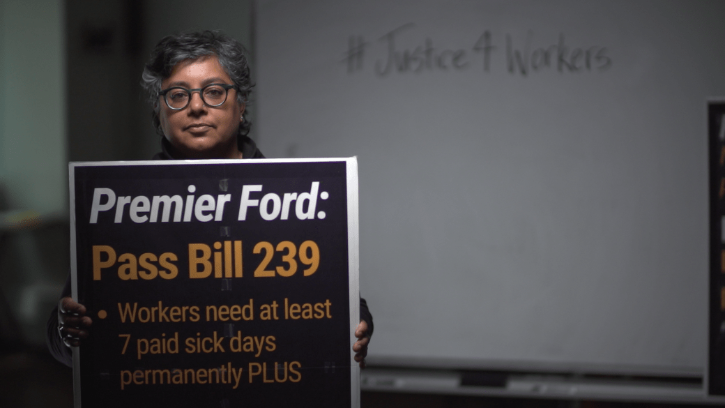 """Click to play video: '""""It's to do with systemic racism"""": Deena Ladd on why governments have been slow to change labour laws'"""