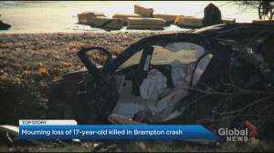 Late night fatal car crash shocks Brampton family