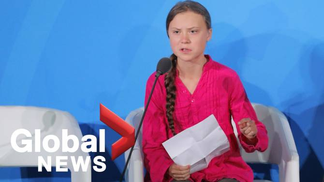 Satirical Greta Thunberg 'helpline' mocks adults 'angry at a child'