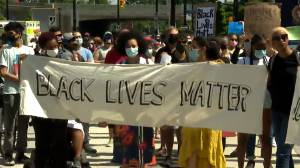 Protesters in Ottawa march against anti-Black racism and police brutality