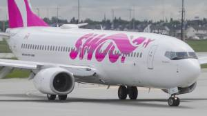 Passengers wait days for next plane after cancelled Swoop flight