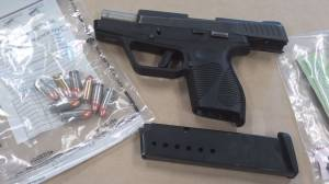 Port Hope police seize gun, drugs and cash following vehicle stop