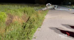 Woman dies following crash north of Port Hope: Northumberland OPP (00:20)