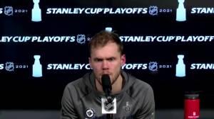 RAW: Winnipeg Jets Ehlers & Hellebuyck Interview – June 2 (05:48)
