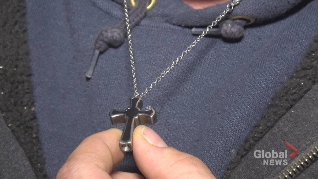 Stolen pendant containing baby boy's ashes returned to Peterborough father