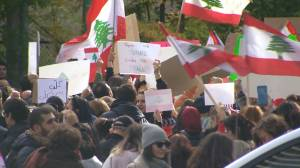 Montreal Lebanese community add their voice to worldwide protests