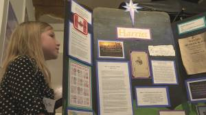 Students celebrate Canadian history in honour of Heritage Week