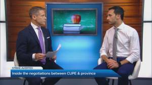 Education Minister Stephen Lecce on CUPE negotiations (04:37)