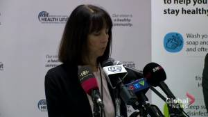 Coronavirus outbreak: Ontario's Windsor-Essex County reports first COVID-19 case