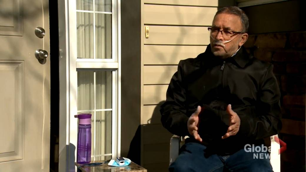 Click to play video: 'Calgary scientist who studied COVID-19 survives virus, inspiring others'