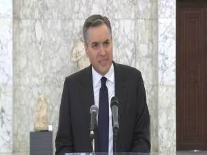 Lebanon's prime minister-designate steps down, apologizes to Lebanese people