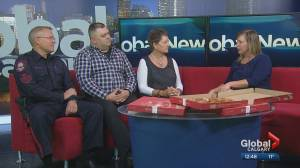 Boston Pizza Badge Day supporting the Calgary Police Foundation