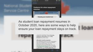 Post-secondary graduates in Edmonton struggle to pay student loans as deferred payments resume (02:01)
