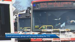 Transit advocacy group call for more funding of TTC