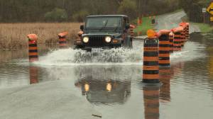 Ontario Premier weighs-in on high water levels