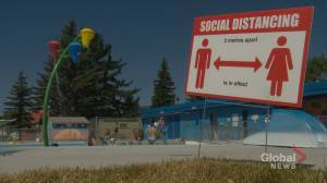 Calgary outdoor pools fully booked as soon as morning online registration opens