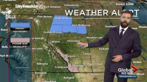 Edmonton weather forecast: Monday, September 14, 2020