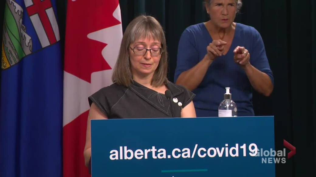 Click to play video: 'Alberta bringing COVID-19 measures in line with other respiratory viruses: Hinshaw'