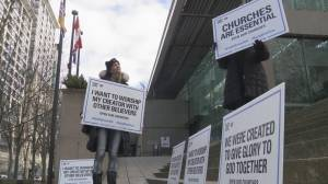 Injunction application against three Fraser Valley churches dismissed (04:13)