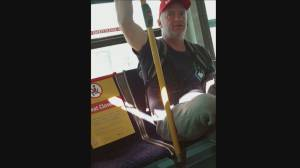 Suspect wanted for attack on transit bus