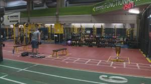 Busy weekend for opened City of Edmonton recreation centres despite strict COVID-19 rules (01:51)