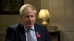 Boris Johnson, asked about Trump doubts on Brexit, says 'U.K. has full control'