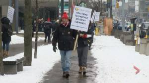 Ontario public high schools closed as teachers stage 1-day strike