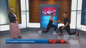 5 partner workout moves