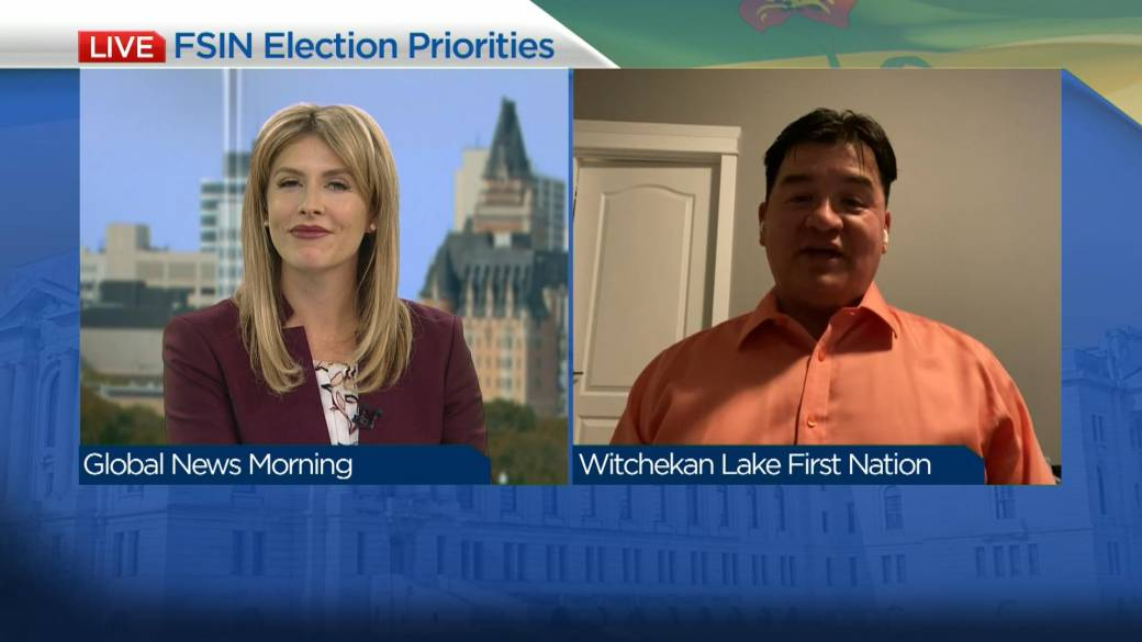 Click to play video: 'FSIN on issues facing Indigenous peoples ahead of provincial election'