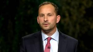 Saskatchewan election 2020: Meili accuses Moe of telling Tristen Durocher to 'get off my lawn'
