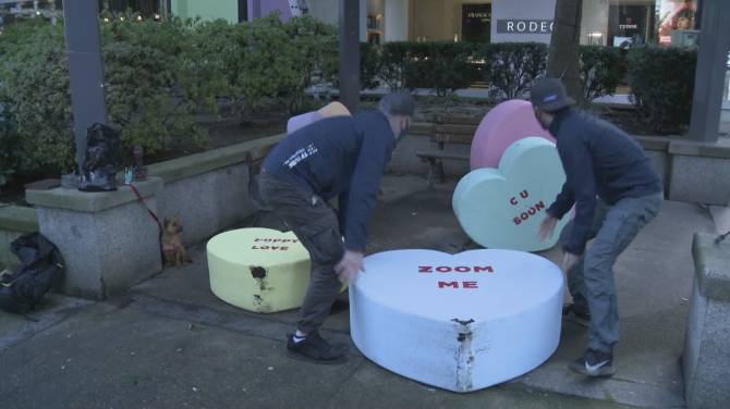 Click to play video: VPD investigate acts of lawlessness in downtown core