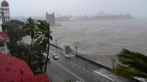 Cyclone Tauktae: At least 16 dead as India's west coast hit with torrential rain, wind blasts (02:37)