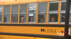 N.B. asking parents to consider not sending their kids to school on the bus