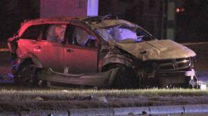 Calgary police search for suspects in May 13 fatal crash