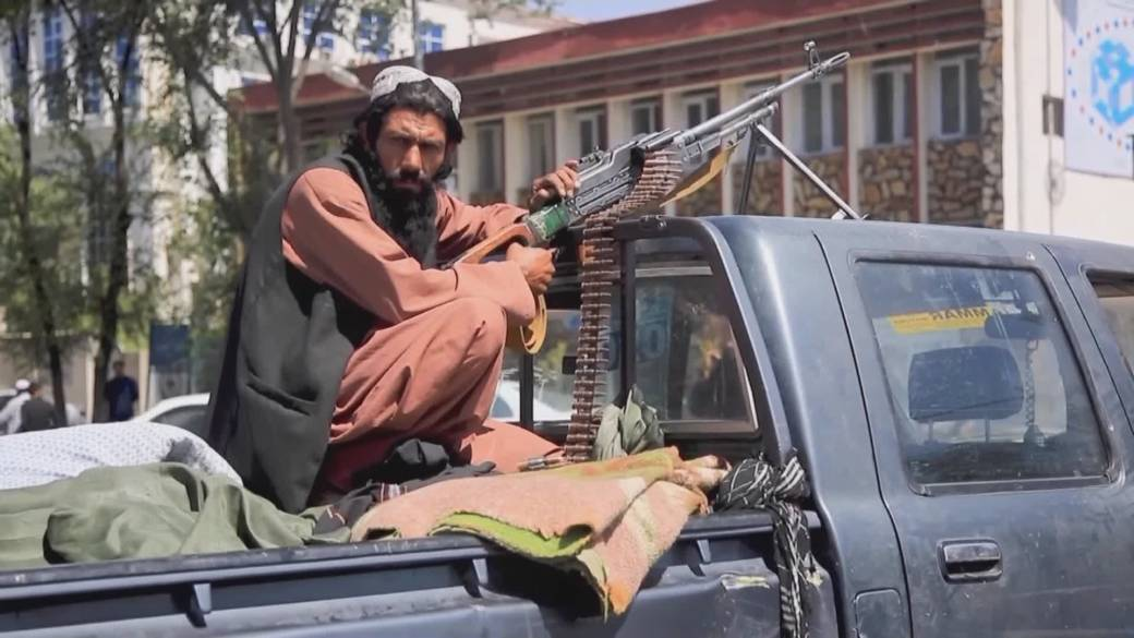 Click to play video: 'The Taliban return to power in Afghanistan'