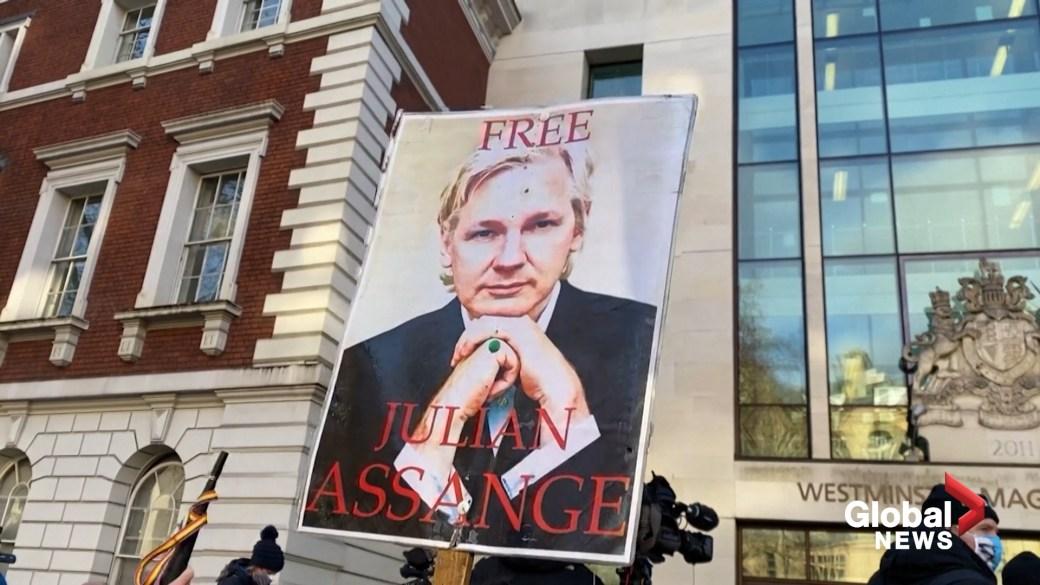 Click to play video: 'U.K. court rejects Julian Assange's bail plea'