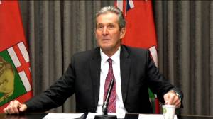 Coronavirus outbreak: Pallister defends work-reduction proposal