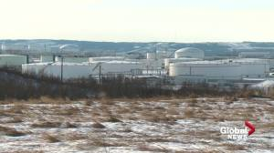 Keystone XL cancellation a blow to economy of the Alberta town where the pipeline begins (01:53)